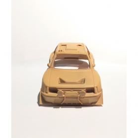 """Peugeot 205 Turbo 16 """"Grand Raid"""" au 1/43ème face avant"""