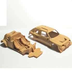 """Body + Chassis - PEUGEOT 205 T16 """"Grand Raid"""" - Provence Moulage - 1:43"""