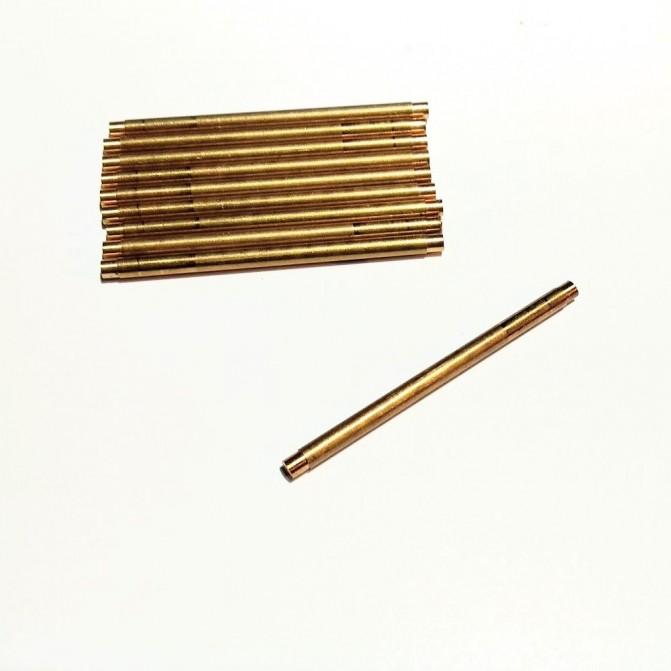 10 axes pour trous de ø2.30mm - LAITON - Long. 40 mm - CPC Production