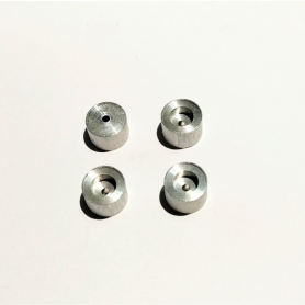4 Aluminum rims - ø 8.50 X 6 mm - CPC Production - CPCB132G