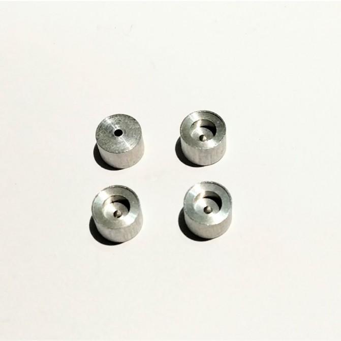 4 Jantes Aluminium - ø 8.50 X 6 mm - CPC Production - CPCB132G