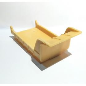 Benne en résine brut - 110 X 55 mm- 1:43 - CPC Production