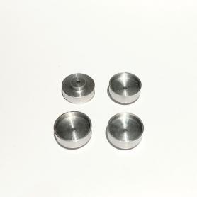 4 rims - Aluminum - ø12.50 X 4 mm - CPC Production