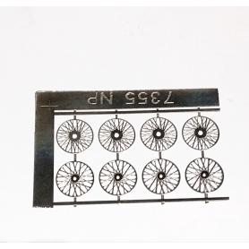 8 spokes ø 11.50 - Photo-cut - For 4 wheels