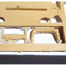 Miniature de camion - SEMI-REMORQUE BACHE GRIS/BLEUE-1/43-IXO MODELS