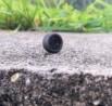 4 roues complètes noires - Diam. 13mm - Ech. 1:43 - Résine
