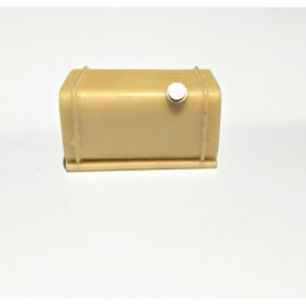 23.50 mm tank - Resin - Nickel-plated brass cap - CPC Production