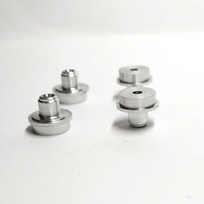4 moyeux aluminium - ø7.60 mm - CPC Production
