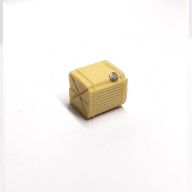 Réservoir en résine et bouchon laiton - Long 15 mm - CPC Production