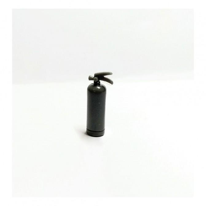 Extincteur en résine - Hauteur 26 mm - À peindre