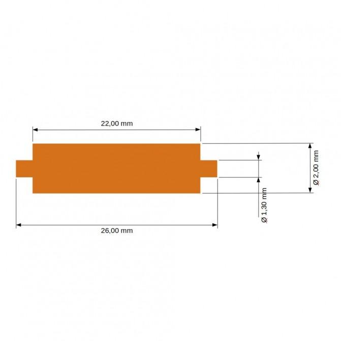 EVERGREEN - QUA 152x304x1 , 01x4 , 23mm- - Matériau