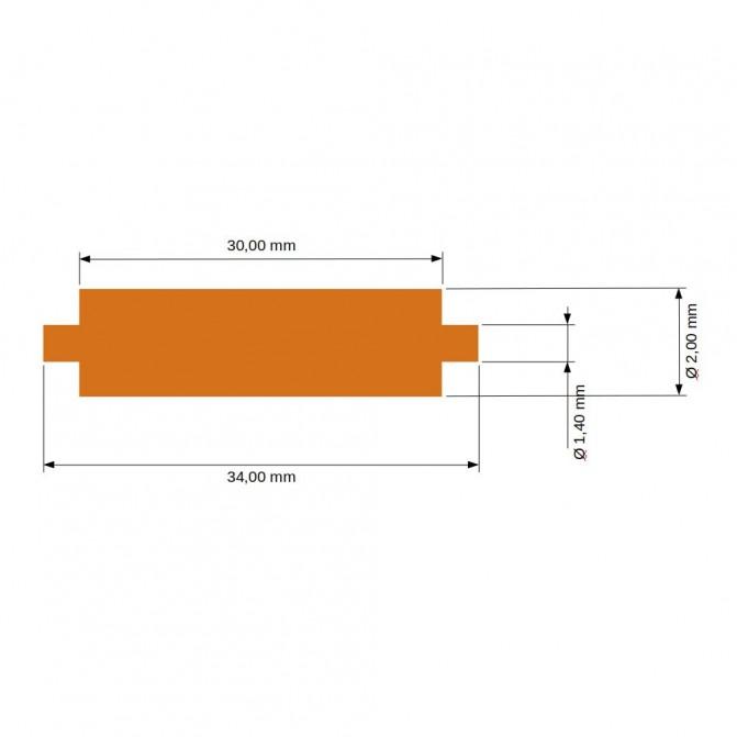 EVERGREEN - QUA 304x609x1 , 01x12 , 7mm- - Matériau