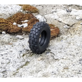 Flexible truck tires - Ech. 1:43 - Ø25 mm X Th 7.30mm - by unit
