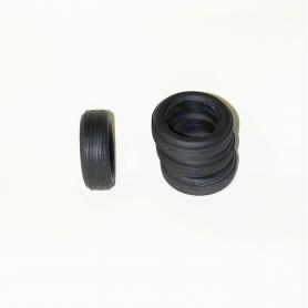 Pneus souples par 4 - ø intérieur 9.50mm - Ech. 1:43