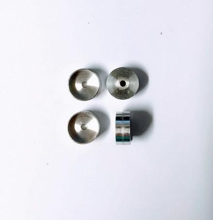Pot d'échappement - ø7 X 48mm - Éch. 1/32ème - Miniature agricole