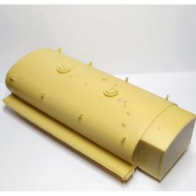 Support de phares en laiton traité ø3.50 - Lot de 4