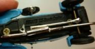 Pot d'échappement  Bugatti T23 Brescia Crosley - Ech 1:43 - Metal
