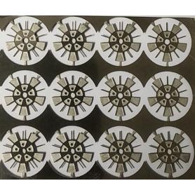4 llantas fotograbadas - Ø 8.40 mm - Escala 1:43
