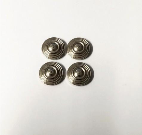 Inserts en laiton chromé - Ø 11 mm - Ech. 1:43 - CPC Production - X4