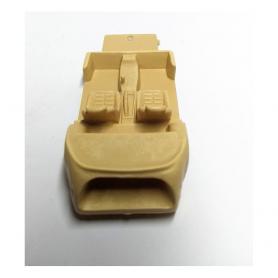 4 roues complètes  - Diam. 18.20mm - Ech. 1:43 - White Metal