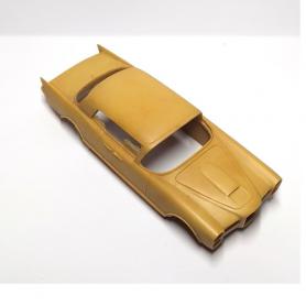 Pot d'échappement Bentley - Ech. 1:43 - White Metal Chrome