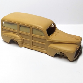 En l'état - Kit - FORD 46 Woodie - 1:43 - Provence Moulage
