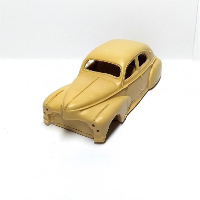 Peint en résine Calandre Peugeot 203 Ech 1:43