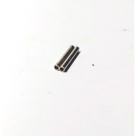 Axe percé sur un coté - Ø1.50 mm X 12 mm - Laiton traité - X2