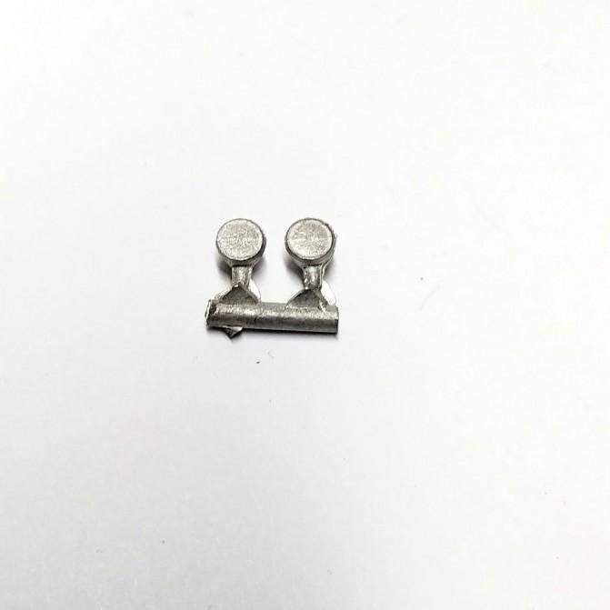 2 phares ø 3.75 mm - White Metal - CPC Production