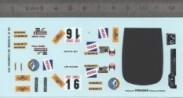 Décalcomanie - DS N°16 Ronde Chamonix - Ech. 1:43