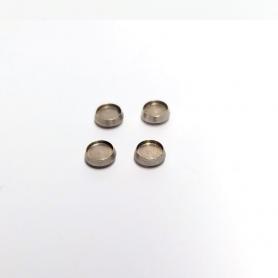 Pneus souples par 4 - ø intérieur 8.20mm - Ech. 1:43