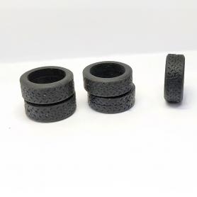5 pneus souples Racing43 - RA118 - ø Extérieur 15 mm