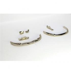 Pièces pour Panhard Dyna Z Cabriolet - White Metal - 1:43