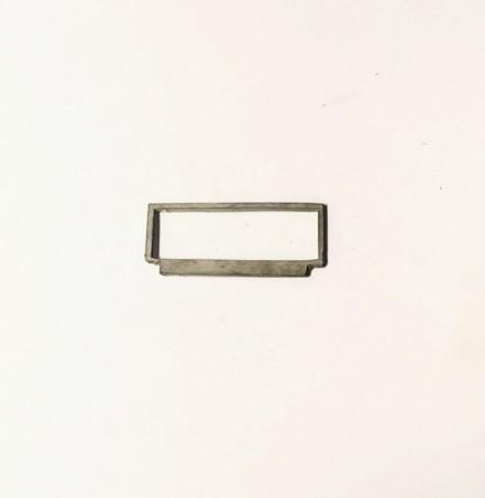 Pare-brise en White Metal - Longueur 26.20 mm