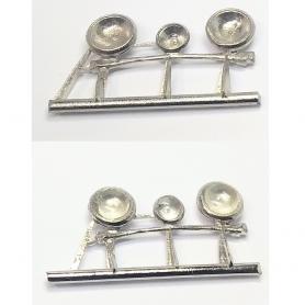 Rampe de phares - Mercedes 540K Coupé Luxe 1939 - 1:43 - Palace