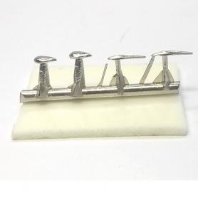 Pièces métals - Arrière/côté BUGATTI Type 57 SC Shah D'Iran - 1:43