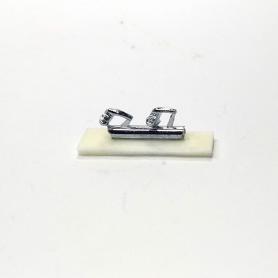 Poignées de porte - Renault 4CV - 1:43 - White Metal