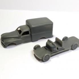 Carrosserie Peugeot Utilitaire en 2 parties - Résine - 1:87 - VM