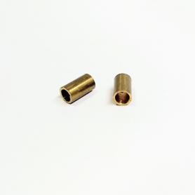 2 Tubes d'échappement ø4X7 mm - Laiton - CPC Production