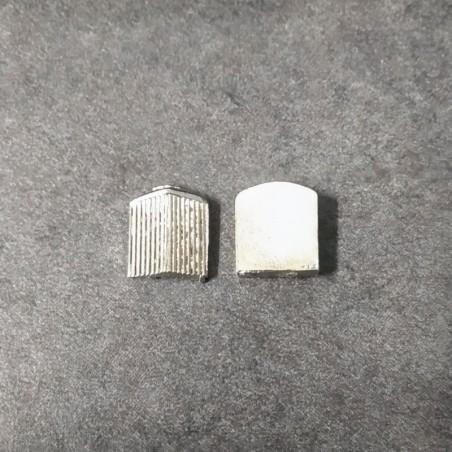 Grille PVC droite 185x290x0,32mm