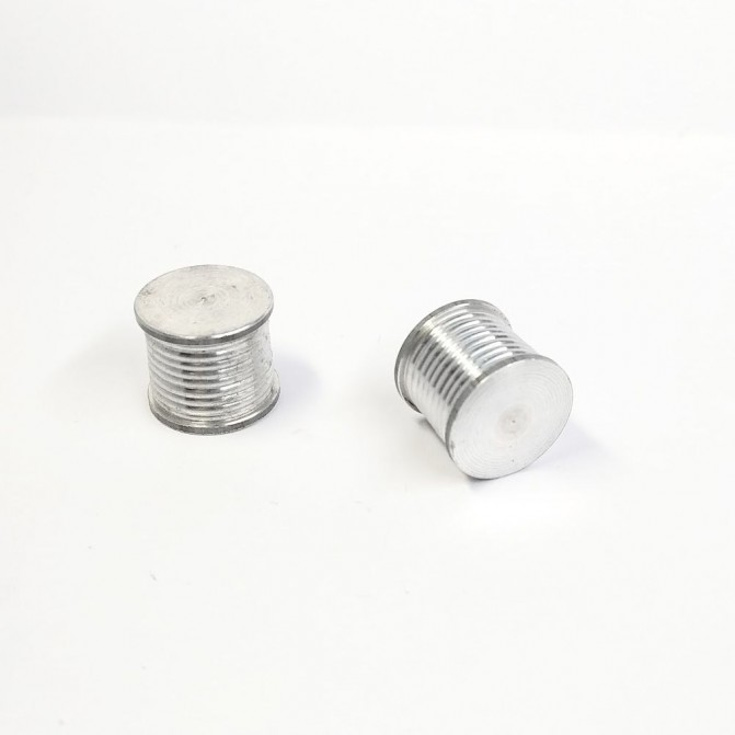2 Dévidoirs ø14 mm - Aluminium - CPC Production