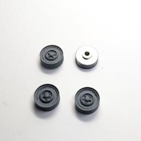 4 jantes CITROËN DS Proto - 1:43 - Aluminium - Artisans43