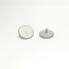 2 Disques pour dévidoir avec axe - ø14mm - White Metal - CPC Production