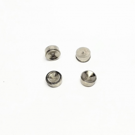 4 Inserts  - Laiton + Nickelage - Ø6 Mm - CPC