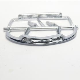 Pare-chocs AV/AR + Feux arrière - Citroën DS Cab - White Metal - 1:43