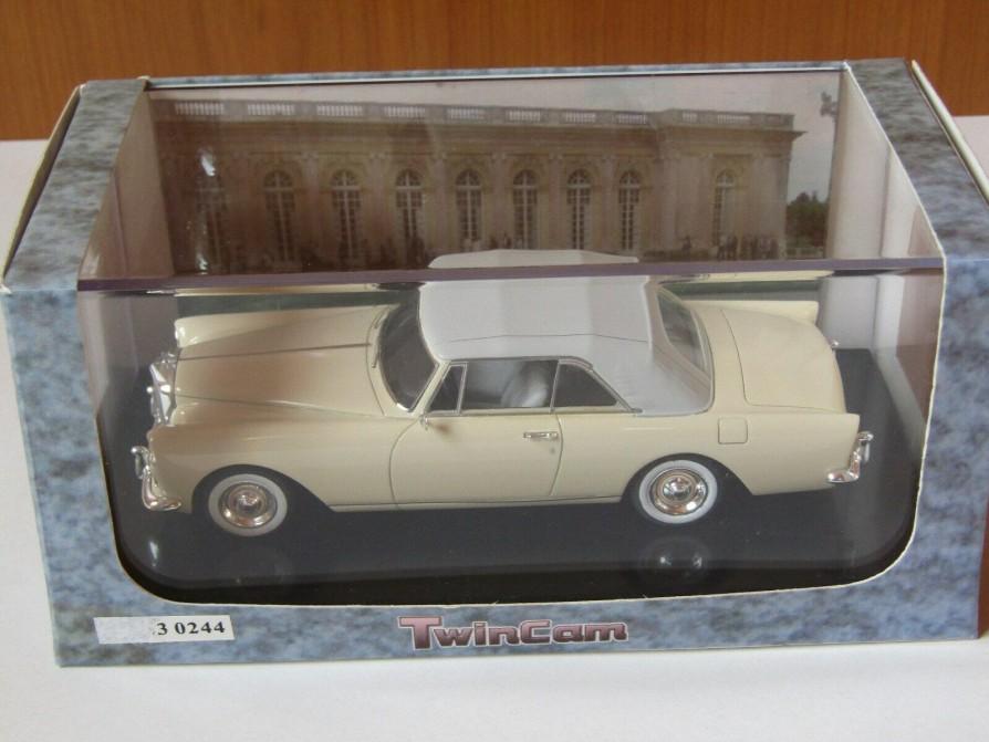 Bentley S2 Continental Park Ward 1962 cab fermé  - 1:43 - Twincam