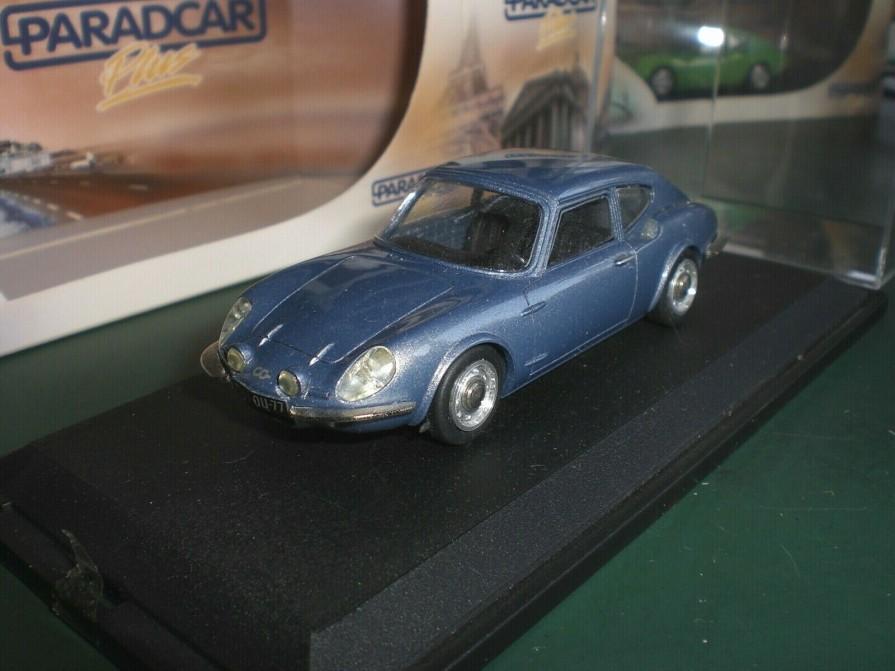 CG Coupé A1200S - 1968 - PARADCAR - 1:43