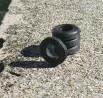 Pneus souples par 4 - ø intérieur 9.80mm - Ech. 1:43