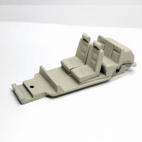 Châssis 2CV Amphibie - Résine - 1:43