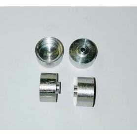 Aluminum rims Ø10 X 6.50 (Set of 5)